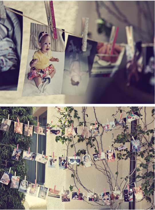 First Birthday Party Ideas, Party Ideas, Hanging Photos, Memories