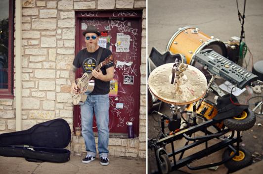 Austin, Texas SXSW Street Performers